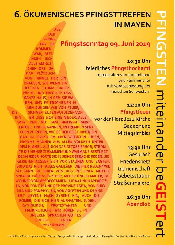 Pfingsten Events